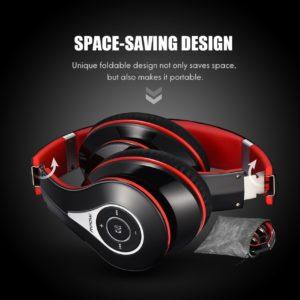 Mpow Bluetooth Headphone red