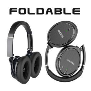 Oucomi bluetooth over-ear headphones