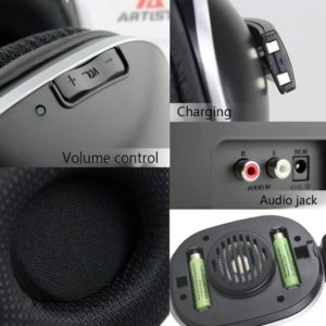 Wireless TV Headphones - Artiste ADH300