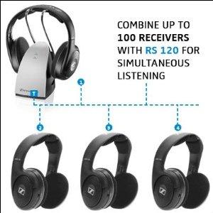 buy Sennheiser RS120 On-Ear Wireless Headphones
