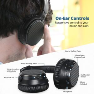 IdeaUSA Active Noise Cancelling Headphone