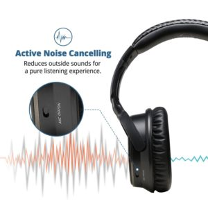 IdeaUSA Active Noise Cancelling Headphones