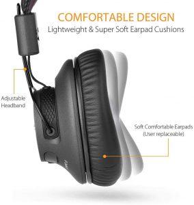 Avantree Audition Pro Headphones 40hr low latency wireless headphones