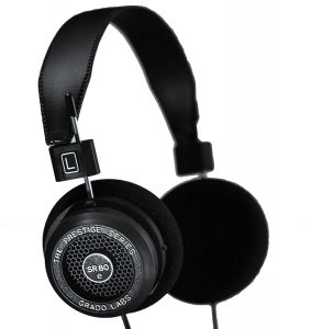 Grado SR80e Prestige Series Wired Open Back Stereo Headphones