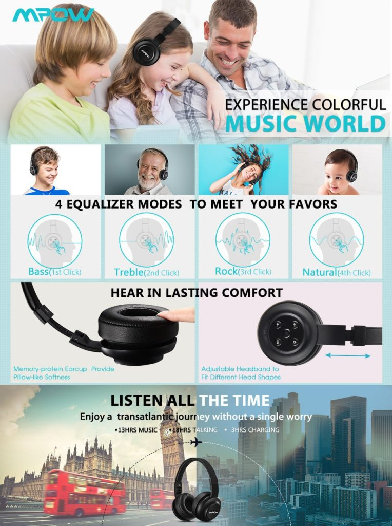Mpow Headset Bluetooth