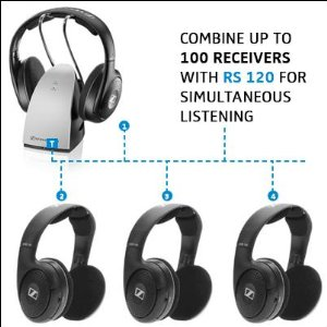 buy Sennheiser RS120 On-Ear Wireless Headphones