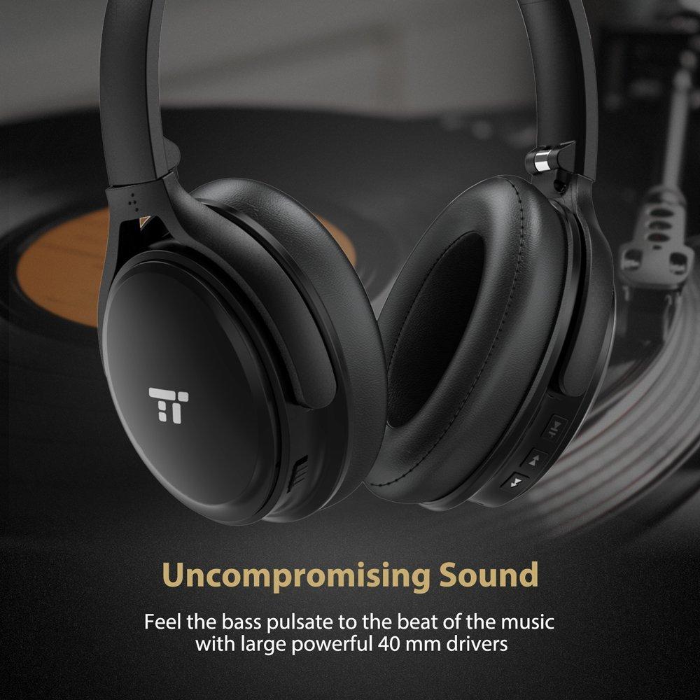 Toatronics Active Noise Cancelling Headphones