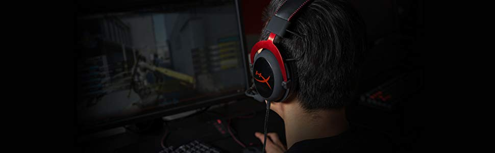 best gaming headpset - hyperx cloud ii