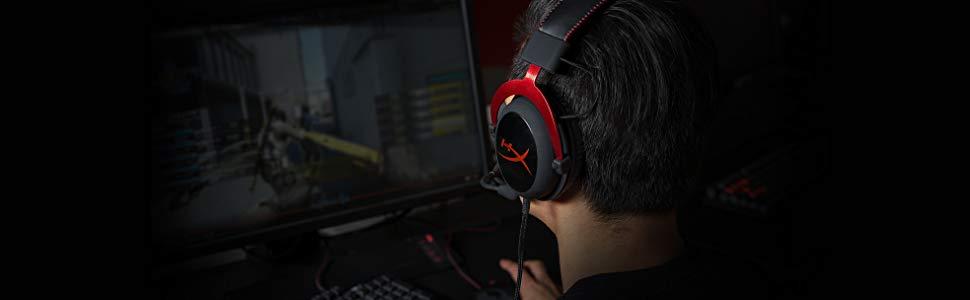 best gaming headpset - hyperx cloud ii