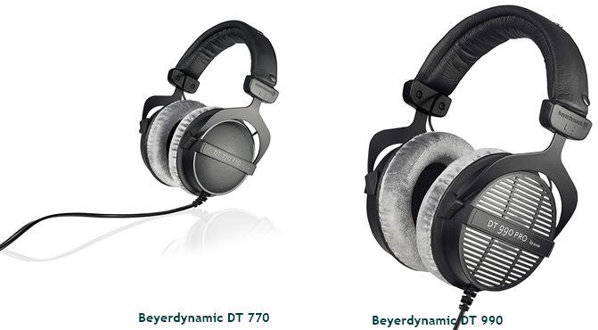 Beyerdynamic DT990 Pro vs DT770