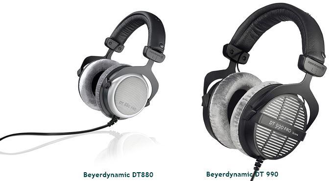 Beyerdynamic DT990 Pro vs DT880