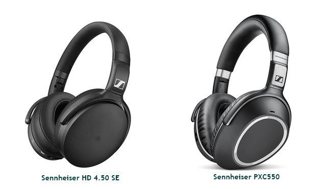Sennheiser HD 4.50 sE vs Sennheiser PXC550
