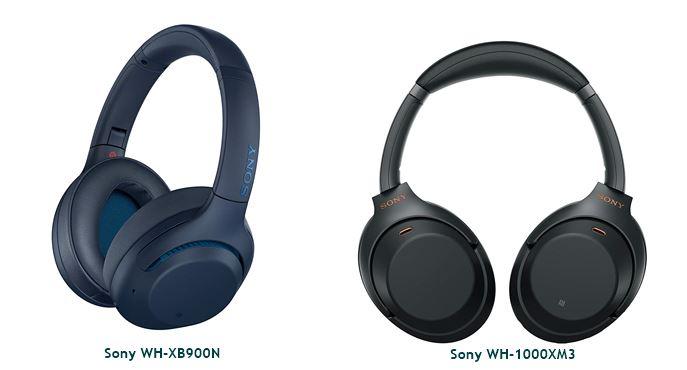 Sony WH-XB900N vs Sony WH-1000XM3