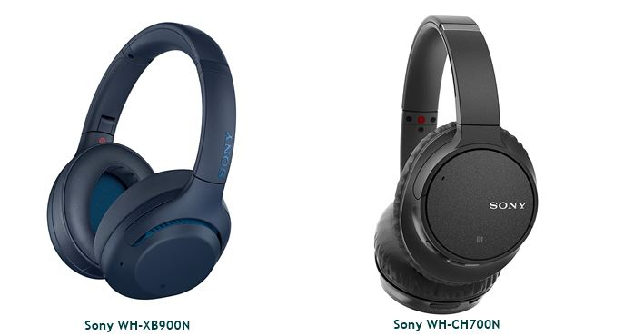 Sony WH-XB900N vs Sony WH-CH700N