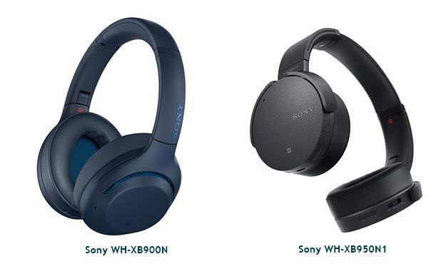 Sony WH-XB900N vs Sony WH-XB950N1