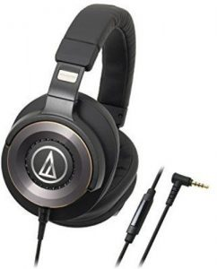 Audio-Technica ATH-WS1100iS - Best Bass over-ear headphones