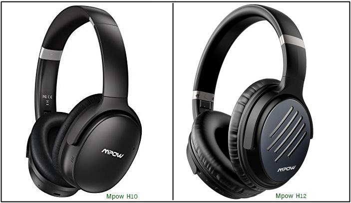 Mpow H10 vs Mpow H12