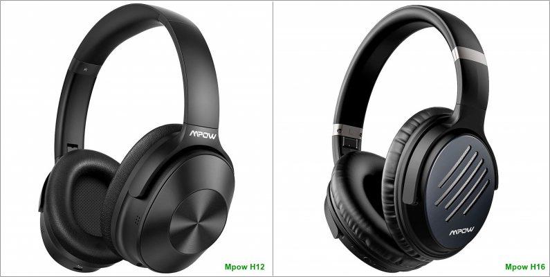 Mpow H12 vs Mpow H16