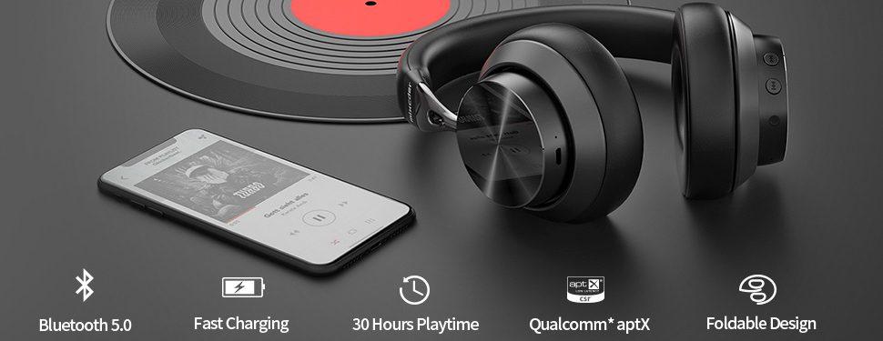Mixder E10 - Active Noise Canceling Headpones under 100