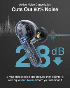 BT-Bh023 Boltune ANC headphones