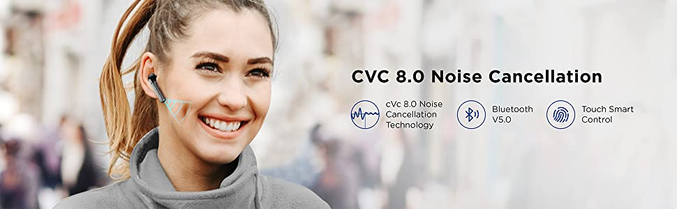 Boltune BT-BH024 Bluetooth earbuds