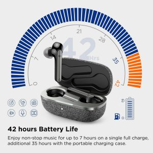 Boltune wireless earbuds with long battery life