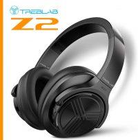Treblab Z2 active noise cancelling headphones