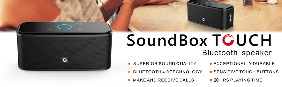 Doss SoundBox Touch - Cheap Portable Speaker