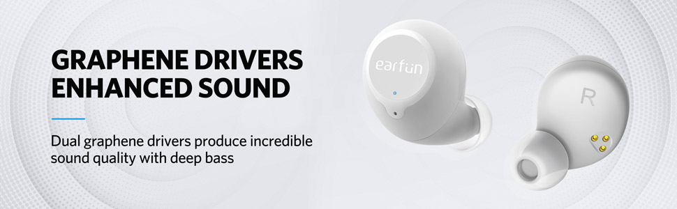 Earfun Free - Best wireless earbuds under 50