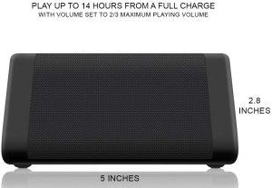 OontZ Angle 3 - long battery life portable speaker