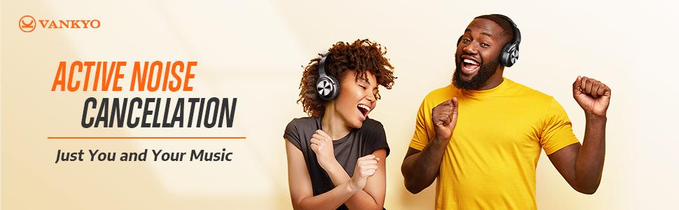 VANKYO C750 Active Noise Cancellation headphones