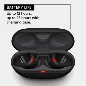 Sony WF-SP800N wirelss in-ear noise-cancelling headphones