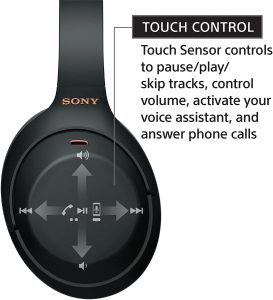 Sony WH-1000XM4 active noise cancelling headphones