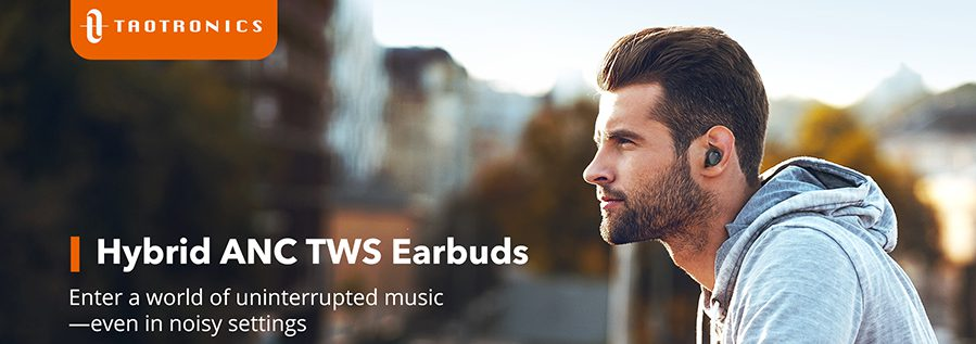 TaoTrnoics SoundLiberty 94 - wirelss earbuds for sports