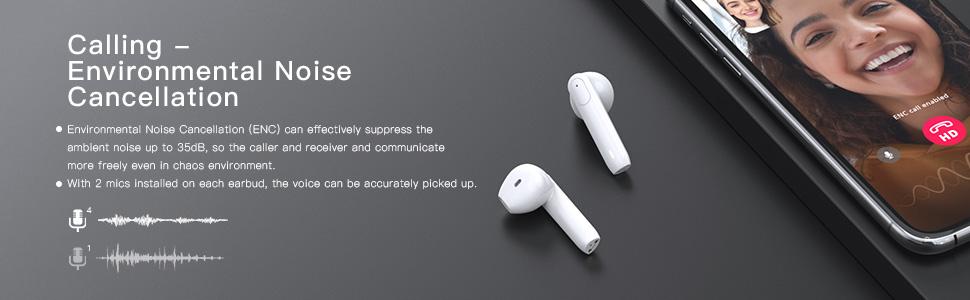 Enacfire T1 Noise Cancellatoin Calling