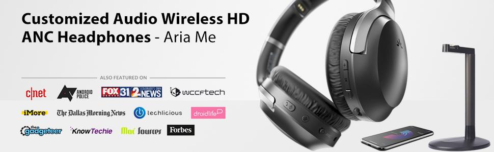 Aria Me - Wireless Headphones For Seniors To Watch TV