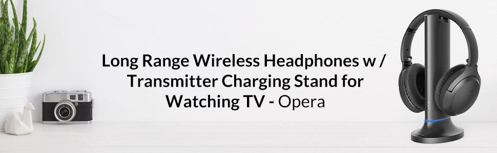 Avantree Opera - Long Range Wireless Headphones for TV