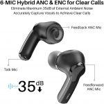 Hybrid ANC wireless earbuds - Tozo NC2