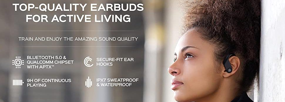 wireless earbuds for workout