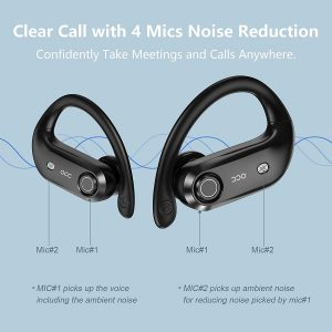 Crystal clear call wireless earbuds