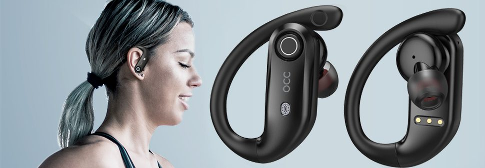 K23 wireless earbuds for sport running and working out