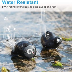 Pasonomi earbuds with IPX7 waterproof