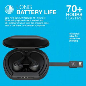 best long life playtime wireless earbuds