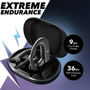 long life battery wireless earbuds for running