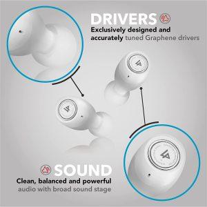 wireless earbuds for wireless charging wiht IPX7 waterproof