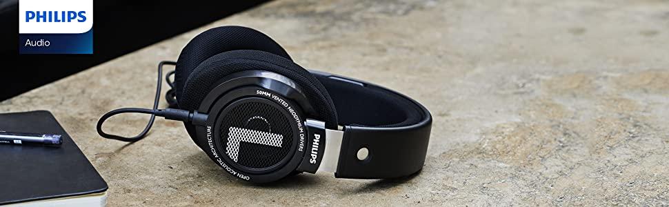 Philips Audio SHP9500 - best open-back headphones under 100