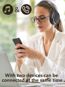 Srhythm NC35 - connect 2 devices headphones