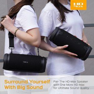 Treblab HD-MAX Bluetooth Waterproof Speaker