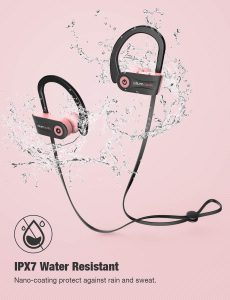 Waterproof sport earbuds