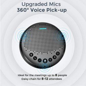 eMeet Luna Speakerphone - Best Bluetooth Speakerphone under 100